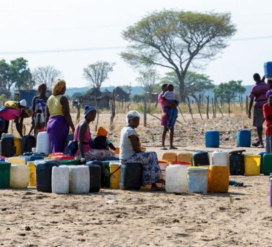 water scarcity africa