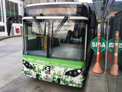 Medellín will have 65 electric buses in service by the end of the year, making it the second-largest electric bus fleet in Latin America.