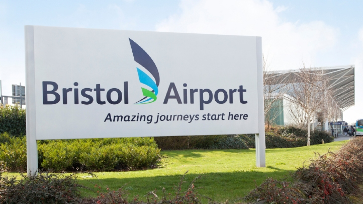 Electricity supplied to the airport will be generated across Orsted's offshore wind portfolio. Image: Bristol Airport