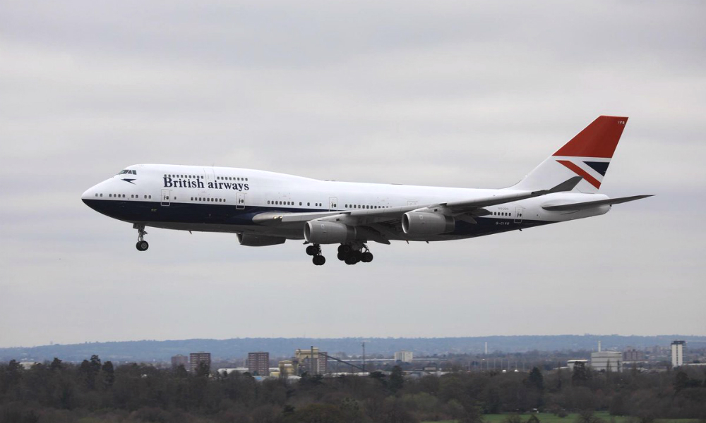 British Airways Owner Pushes for Net Zero Carbon Emissions